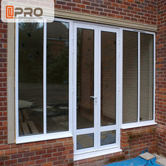 Latest window designs building materials aluminum windows made in China door and windows on China WDMA