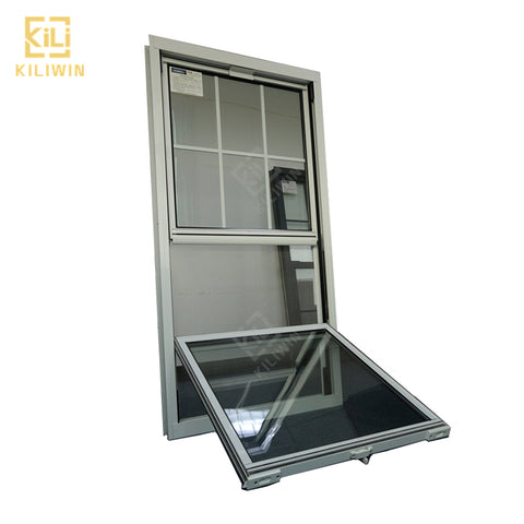 Lift up hurricane impact french windows latest designs small size top hung aluminium up down sliding window for kitchen on China WDMA