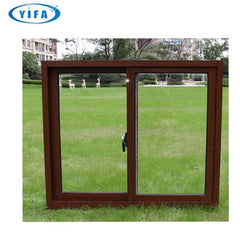 Low Cost Modern Design Aluminum Frame sliding Window on China WDMA