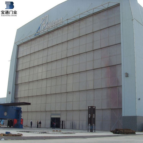 Low price custom made vertical lifting sectional sliding industy door on China WDMA on China WDMA