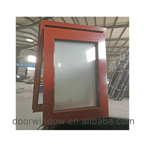 WDMA Noise Reduction Window - Low price double pane windows noise reduction awning window curved aluminium frames