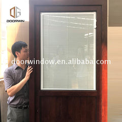 Low price entry door hinge types doorwin windows with built in shades doors on China WDMA