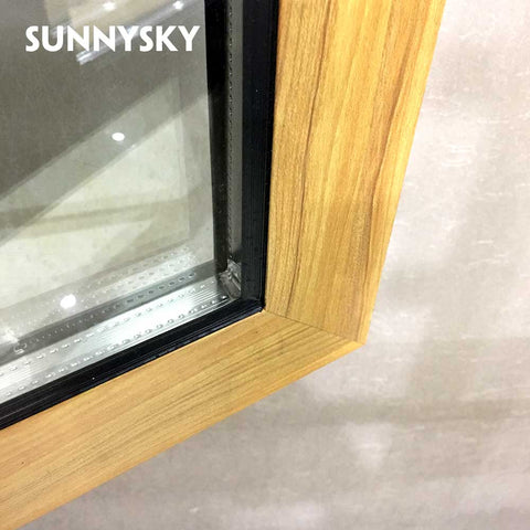 Luxury Australia standard french aluminum casement swing window on China WDMA