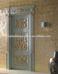 Luxury carving wood door french style door design on China WDMA