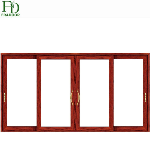 Main Door Design With Double Glazed Windows And Doors Aluminium Sliding Door on China WDMA