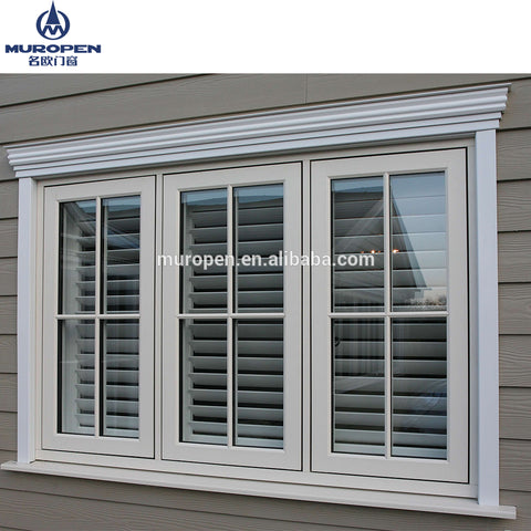 Malaysia glazed pane frame oem triple glazed guangdong manufacturers Aluminium alloy double leaf window on China WDMA