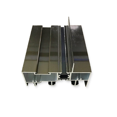 Malaysia south africa circular anodized sliding door track square aluminum profile on China WDMA
