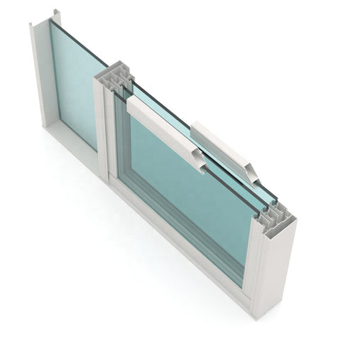 Manufacturer excellent anodized mirror aluminum window frames on China WDMA