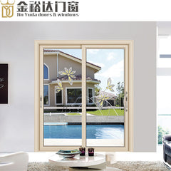 Manufacturers selling two rail aluminum sliding door tempered glass sliding door to the living room balcony window professional on China WDMA