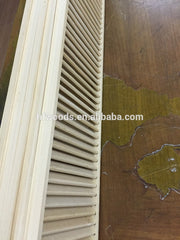 Mass Production Show Poplar Wooden Louver Door Wooden Or Timber Louver on China WDMA