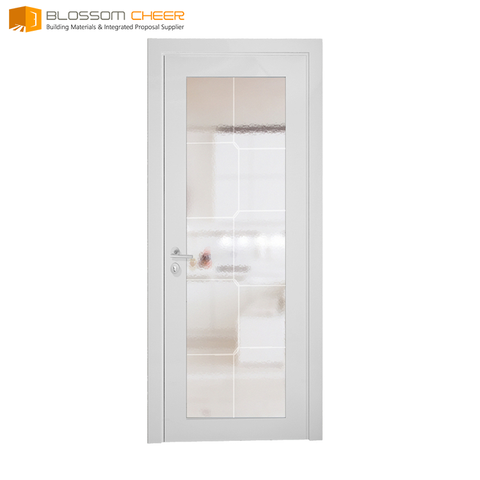 Material customized composite wood screen miniature door elegant wooden single door designs on China WDMA