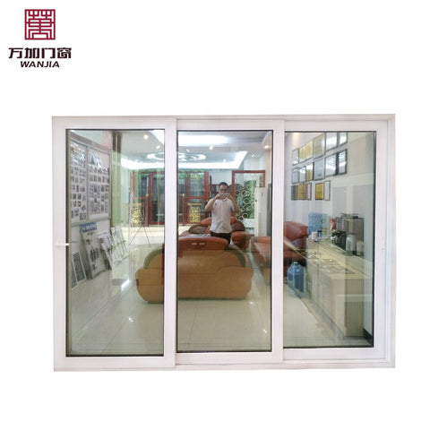 Modern Design 3 Panel Sliding Patio Pvc Door Price on China WDMA