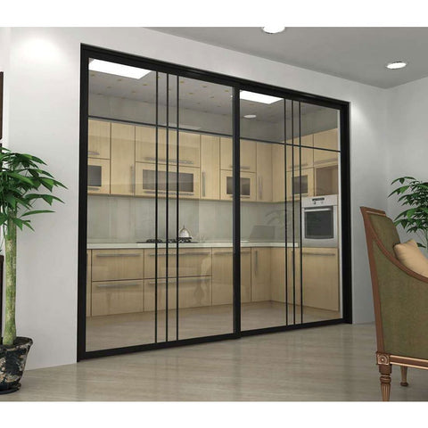 Modern Exterior Aluminum Front Entry Door Tinted Glass Doors Sliding Aluminum Designs Double Glazed Entrance on China WDMA