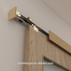 Modern Style aluminum Sliding wooden barn Door Hardware on China WDMA
