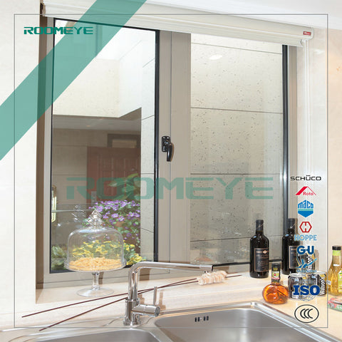 Modern design thermal break aluminum inward opening casement window on China WDMA