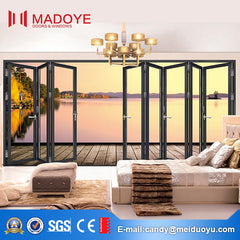 Modern house slimline aluminium glass patio doors and windows on China WDMA