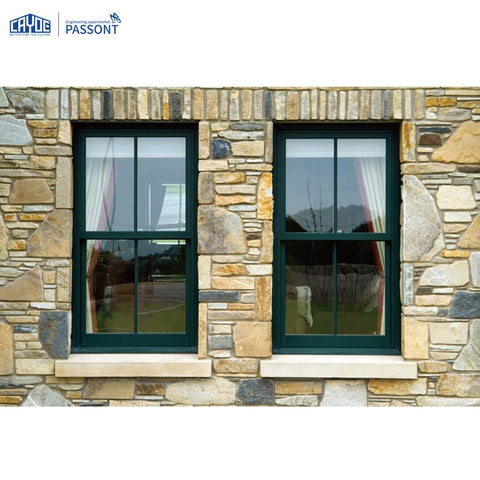 Modern iron window grill design single hung sash window for Canada Market on China WDMA