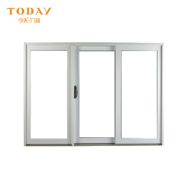 Morden Design 3 panel sliding glass closet patio doors price on China WDMA
