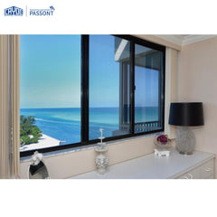 Mosquito net glass upvc windows aluminum sliding window price on China WDMA