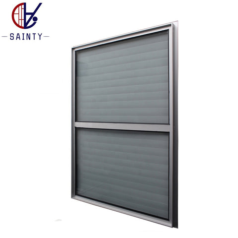 Most popular Aluminium frame cheap price glass louver window on China WDMA