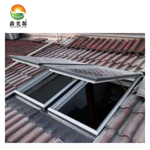 Most popular extruded aluminum profiles skylight with great price for basement window on China WDMA