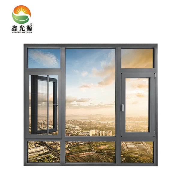 Most popular thermal break double glazed aluminium casement window wholesales for Awning Windows on China WDMA