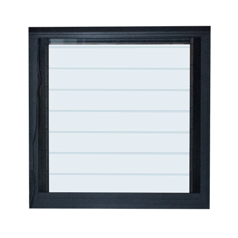 Motorized remote control glass louver jalousie security louver aluminium glass windows for sale on China WDMA