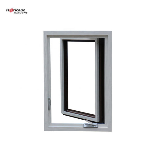 NFRC Approved large anodized commercial aluminum casement hurricane impact windows for sale on China WDMA
