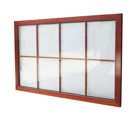 NOA impact resistant solid aluminium windows Florida hurricane proof windows on China WDMA