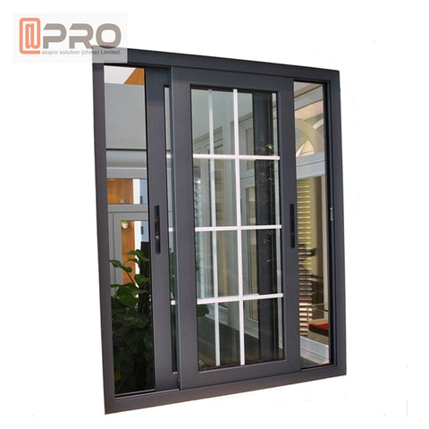 New Design Sliding Windows Tempered Glass Aluminum sliding Window roller for sliding window aluminium windows sliding rollers on China WDMA