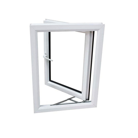 New Design UPVC Double Glazed Windows PVC Doors on China WDMA
