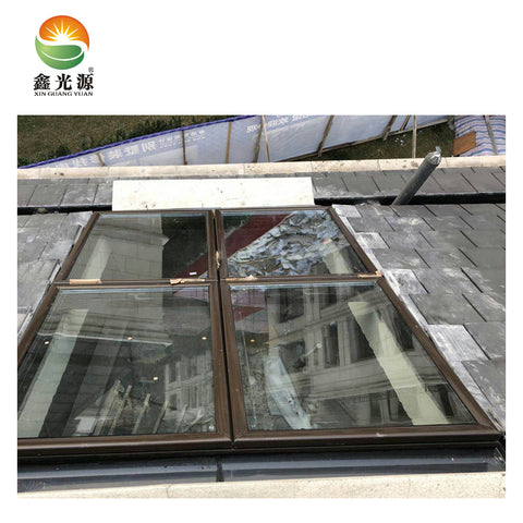 New Style China Manufacturer Customized oem aluminium windows with polycarbonate roof access skylight on China WDMA