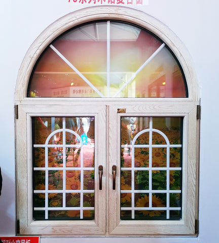 New design Aluminium sliding Windows and Doors casement arch top window and door on China WDMA