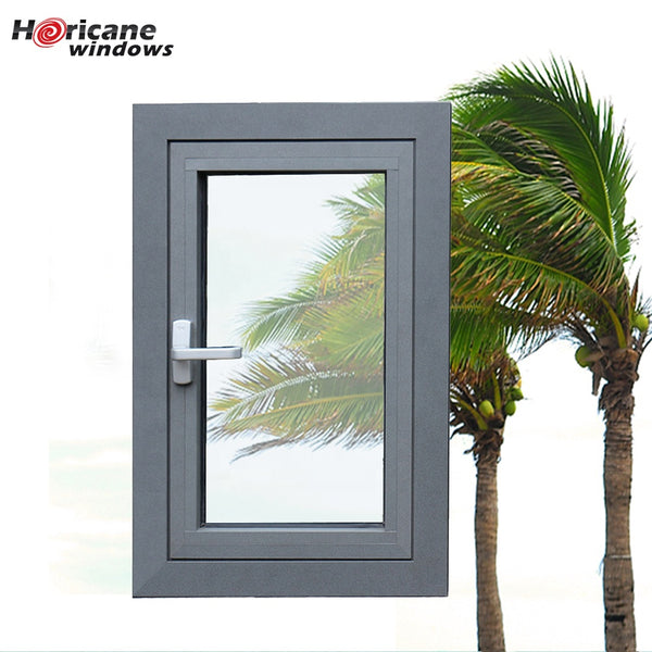 New design Miami Dade approved aluminum casement hurricane impact windows on China WDMA