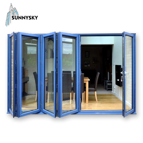 New design aluminum miami fl accordion folding doors for small spaces exterior patio cost on China WDMA