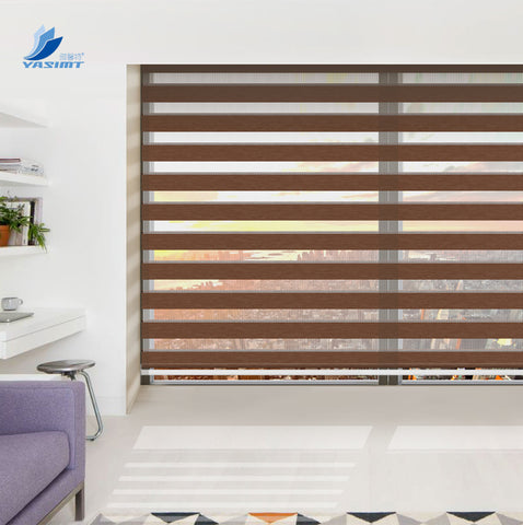 New design blinds windows sunscreen zebra blinds