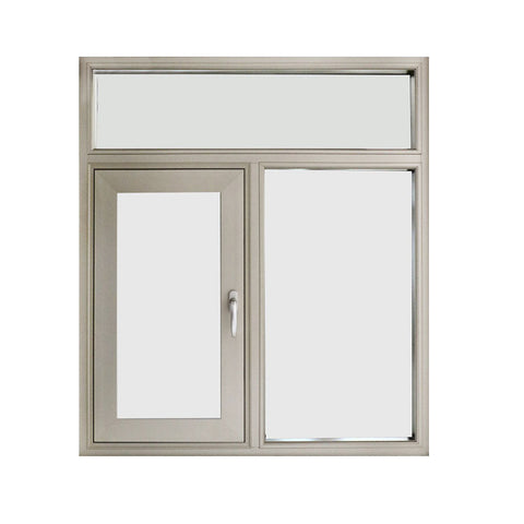 New design cheap house fixed aluminium window on China WDMA