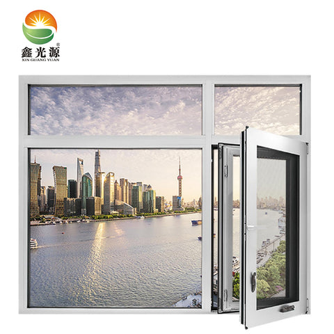 New design inward-opening aluminium casement window wholesales for Awning Windows on China WDMA