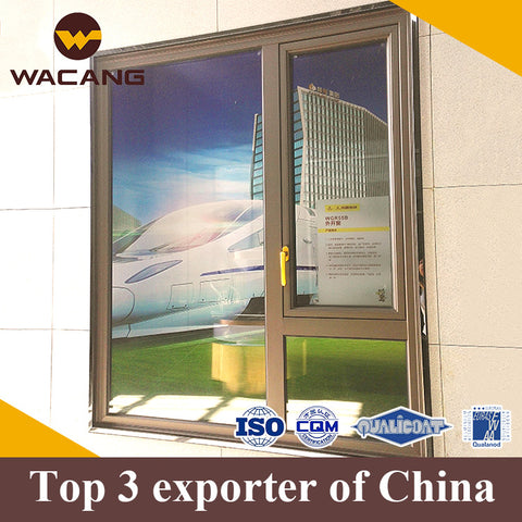 New design luxury aluminum window custom frame on China WDMA
