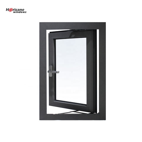 New design modern french large double or single pane aluminium hinged casement glass windows on China WDMA
