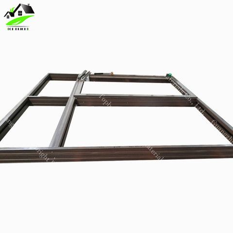 New design picture low cost aluminum frame glass wall double tempered glass sliding window and door price on China WDMA