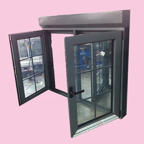 New design yingchen integrated aluminum glass window with roller shutter on China WDMA