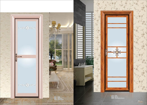 New hot products sliding doors for bathrooms aluminum comfort room door design single exterior french with low shipping cost on China WDMA