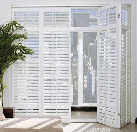 New pattern customizable aluminum louvered bifold doors on China WDMA