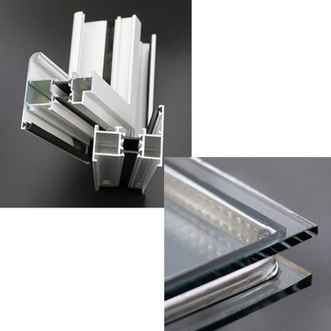 New roof 48 x 48 window roller aluminium sliding window design on China WDMA