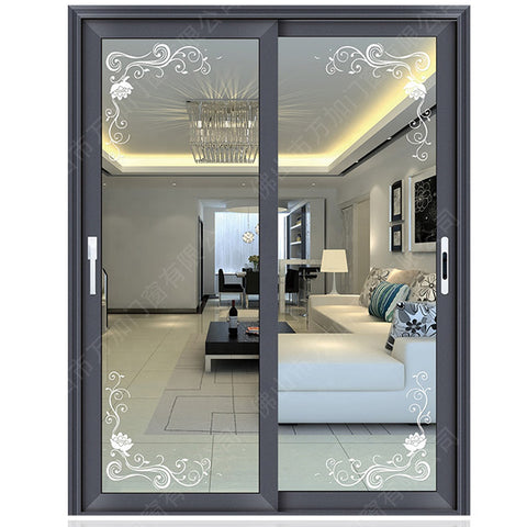 Newest Products Customize Door Glass Panels Inserts/double pane doors on China WDMA