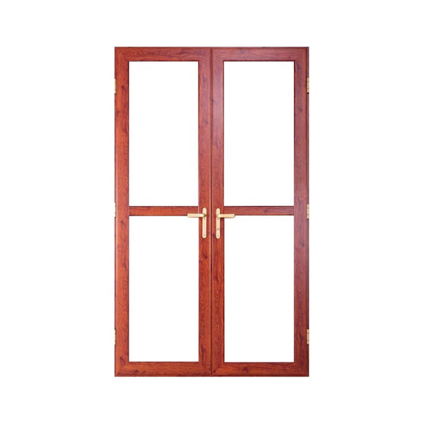 Noise reduction triple glazing thermal break aluminum door with NFRC certification glass on China WDMA