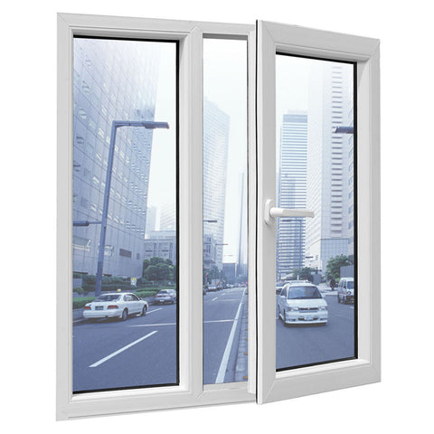 North American market Pvc Casement window design with USA standard on China WDMA