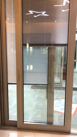 Hot sale design aluminium casement windows sliding doors with double glass on China WDMA