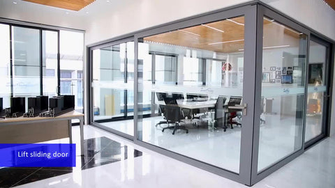 Factory Hot Sales aluminum doors for external prices bulletproof glass door and window system interior frosted bathroom on China WDMA